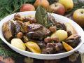 Enten-Kartoffel-Topf mit Kirschen und Äpfeln Rezept