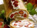 Erdbeer-Sahne-Roulade Rezept