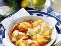 Fischgratin mit Paprika und Apfel Rezept