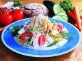 Fitness-Kefir-Salat mit Schafskäse