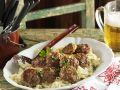 Frikadellen nach Münchner Art (Fleischpflanzerl) dazu Sauerkraut Rezept