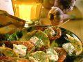 Garnelenspieße mit Seeteufel und Zitrone Rezept