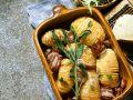Gebackene Kartoffeln mit Salbei und Speck Rezept