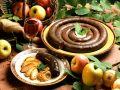 Gebratene Blutwurst mit Zwiebeln und Apfel Rezept