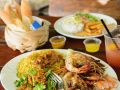 Gebratene Shrimps mit Safranreis Rezept