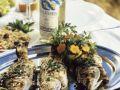 Gebratener Fisch mit Dip und Salat Rezept