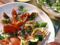 Gegrilltes Gemüse mit Knoblauchsacuce Rezept