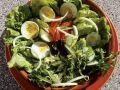 Gemischter Salat mit Ei Rezept