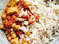 Gemüse-Kichererbsen-Curry mit Tofu Rezept