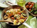 Gemüsepfanne mit Hähnchen Rezept