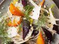 Gemüsesalat mit Roter Bete und Fenchel Rezept