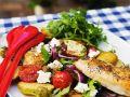 Gemüsesalat mit Hähnchen Rezept