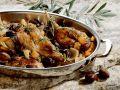 Geschmortes Kaninchen mit Oliven und Rosmarin Rezept