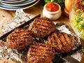 Grill-Buletten mit Salat Rezept
