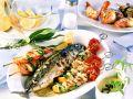 Grillteller mit Meeresfrüchten Rezept