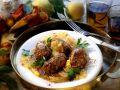 Hackfleischbällchen mit Zwiebelsauce Rezept