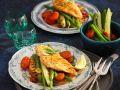 Hähnchen mit Bohnensalat Rezept