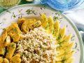 Hähnchen-Ragout mit Reis und mango Rezept