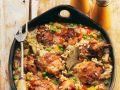 Hähnchen-Reispfanne Rezept