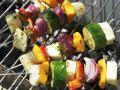 Halloumi-Gemüse-Spieße Rezept
