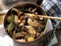 Herbstliche Pilzpfanne mit Speck Rezept
