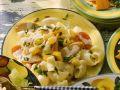 Hörnchen-Nudel-Salat mit Wienern Rezept