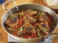 Hühnchenpfanne auf spanische Art Rezept