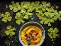 Hummus mit Spinat-Tortilla-Chips Rezept