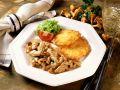 Kalbsgeschnetzeltes mit Pfifferlingen und Kartoffelrösti Rezept