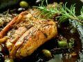 Kaninchen mit Kräutern und Oliven Rezept