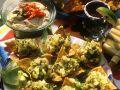 Kartoffel-Olivensalat mit Tacos Rezept