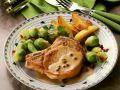 Kotelett mit grüner Pfeffersauce Rezept