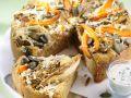 Kürbis-Chicorée-Kuchen Rezept