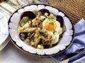 Labskaus mit geräuchertem Fisch, Roter Bete, Gurken, Zwiebeln und Ei Rezept