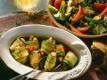 Lachs im Zucchinimantel mariniert Rezept