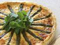 Lachsquiche mit Spargel Rezept