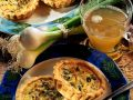 Lauchzwiebel-Torteletts Rezept