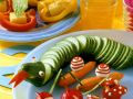 Lustige Gemüserohkost Rezept