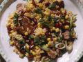 Mais-Bohnensalat mit Reis Rezept
