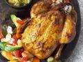 Maishuhn mit Couscous und Gemüse Rezept