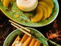 Mandelcreme mit Süßkartoffeln Rezept