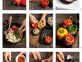 Mit Hackfleisch gefüllte Paprika Rezept