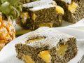 Mohnkuchen mit Ananas Rezept