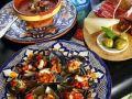 Muscheln mit Paprikasalsa Rezept