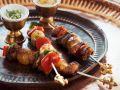 Orientalische Lamm-Gemüse-Spieße Rezept