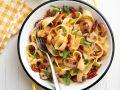 Pappardelle mit Pilzen und Tomaten Rezept