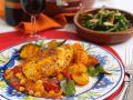 Paprika-Mais-Hähnchen Rezept