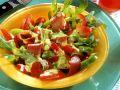 Paprika-Rucolasalat mit Bresaola Rezept