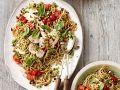 Pasta mit Hähnchen und Brokkoli-Pesto Rezept