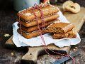 Pfefferkuchen mit Früchten Rezept